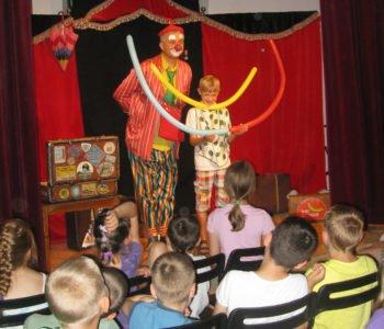 Spektakl dla dzieci Teatru Szczęście – Ale Cyrki