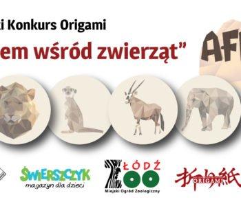 Z papierem wśród zwierząt – ogólnopolski konkurs origami dla dzieci