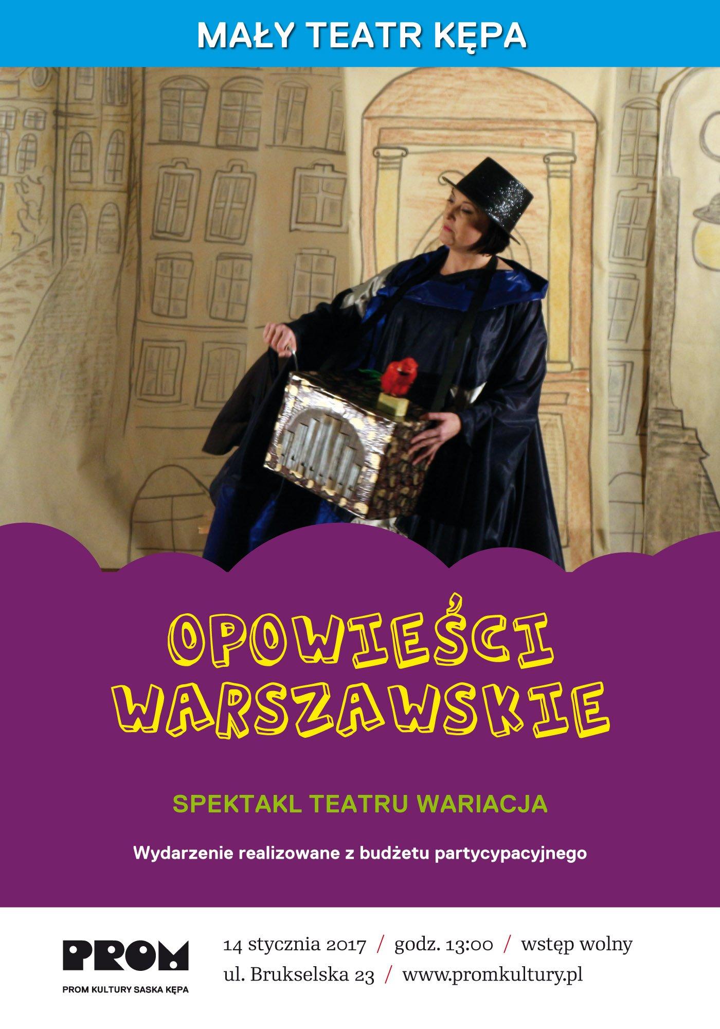 opowieści warszawskie Teatr
