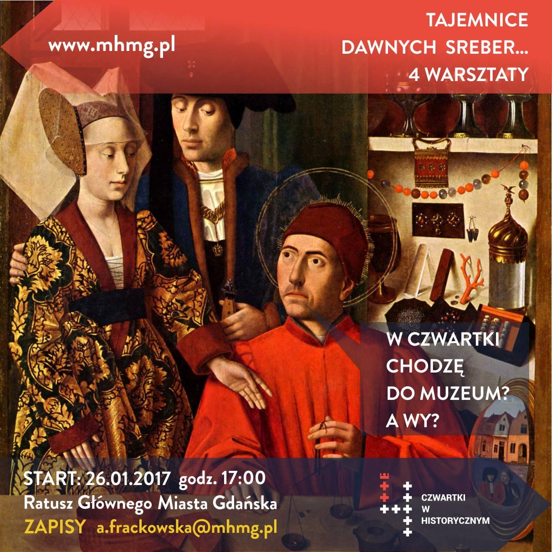 warsztaty o srebrach Muzeum Historyczne Miasta Gdańska