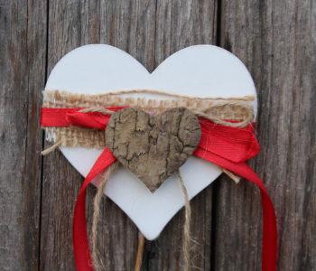 Walentynkowa kartka z życzeniami
