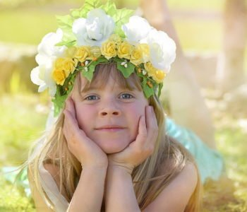 wyliczanka z kwiatkami dla dzieci z