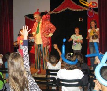 Spektakl dla dzieci Teatru Szczęście – Klaun w Balonie