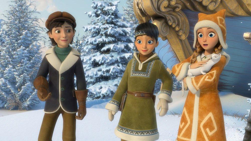 Czytamy i Oglądamy w Agrafce - Królowa śniegu 3: Ogień i lód