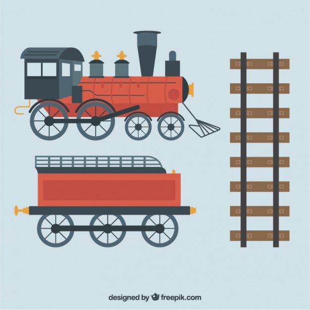Kreatywne Duplo - podróż pociągiem
