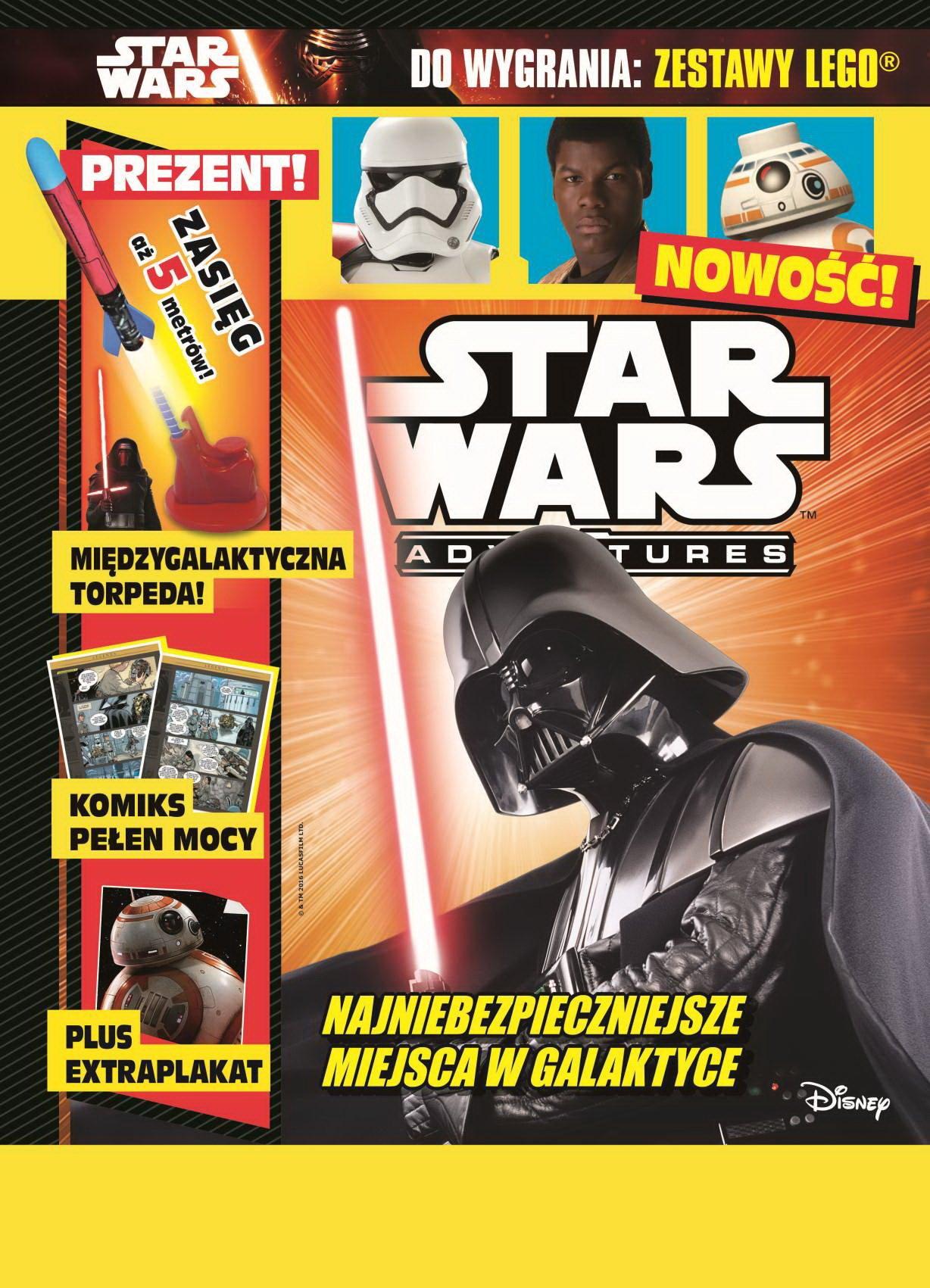 star wars czasopismo dla dzieci