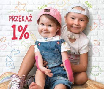 Przekaż 1 proc. podatku ALMA SPEI i przywróć uśmiech chorym dzieciom