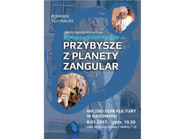 mdk radomsko poranek teatralny 8.01.2017