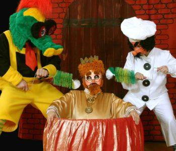 "Teatr Bajlandia ""Bajka osmoku ikrólu leniuchu"""