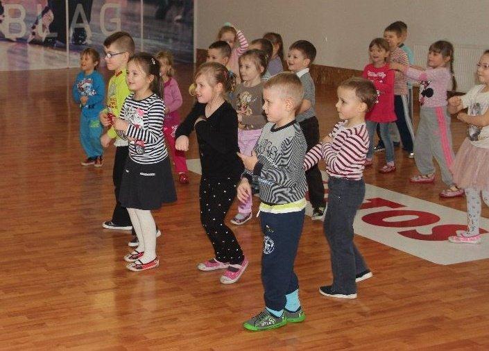 """Taniec dla dzieci w Centrum Tańca """"Promyk"""" w Elblągu"""