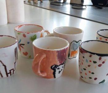Malowanie na ceramice - nowe warsztaty w pracowni!