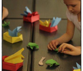 Origami – sztuka przyjazna dziecku