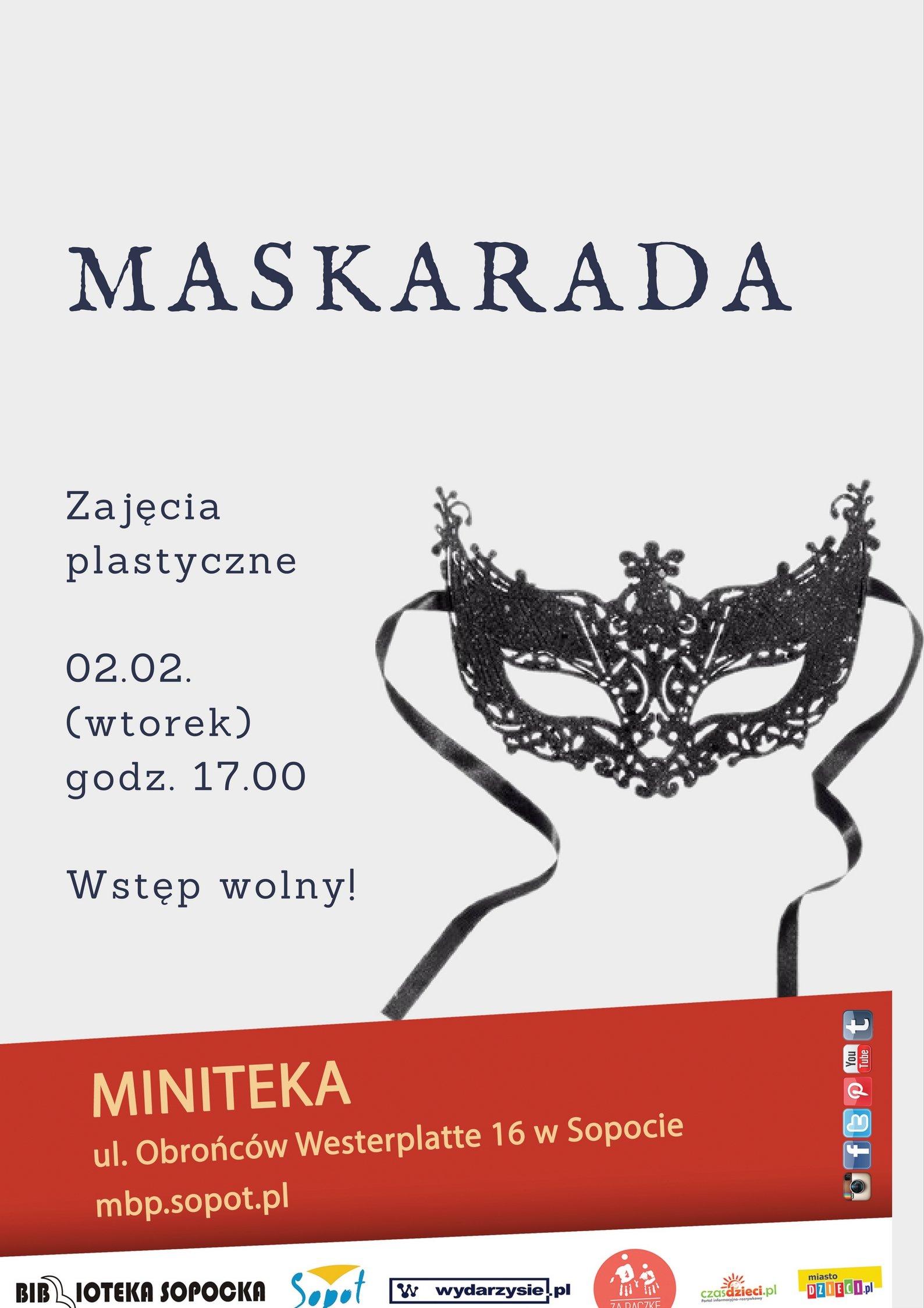 Maskarada biblioteka Sopot Miniteka