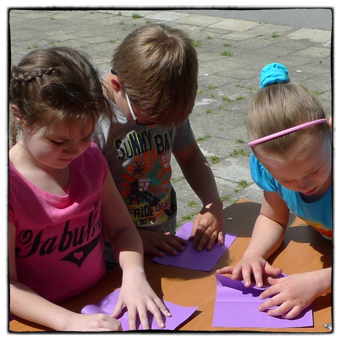 Origami - sztuka składania papieru dla dzieci