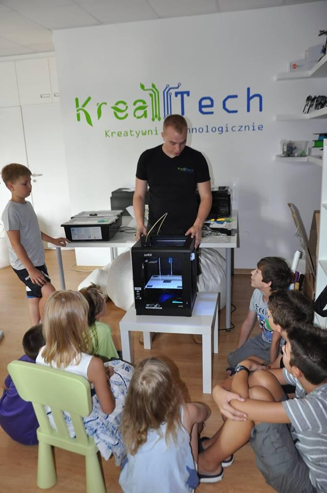 Rozpoczynamy nowy semestr z zajęciami technologicznymi KreaTech