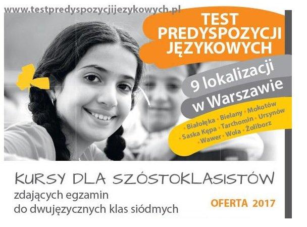 Test predyspozycji językowych