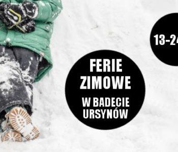 bajkowe ferie zimowe w Badecie Ursynów 2017