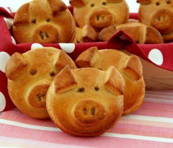 Bułeczki świnki - mojewypieki.com