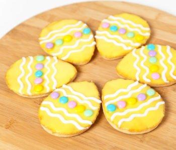 Przepis na ciasteczka – wielkanocne pisanki do chrupania