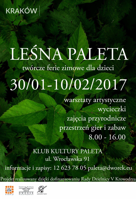 Leśne ferie w Krakowie