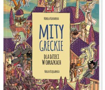 Mity greckie dla dzieci książka