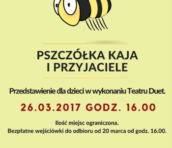 pszczolka plakat