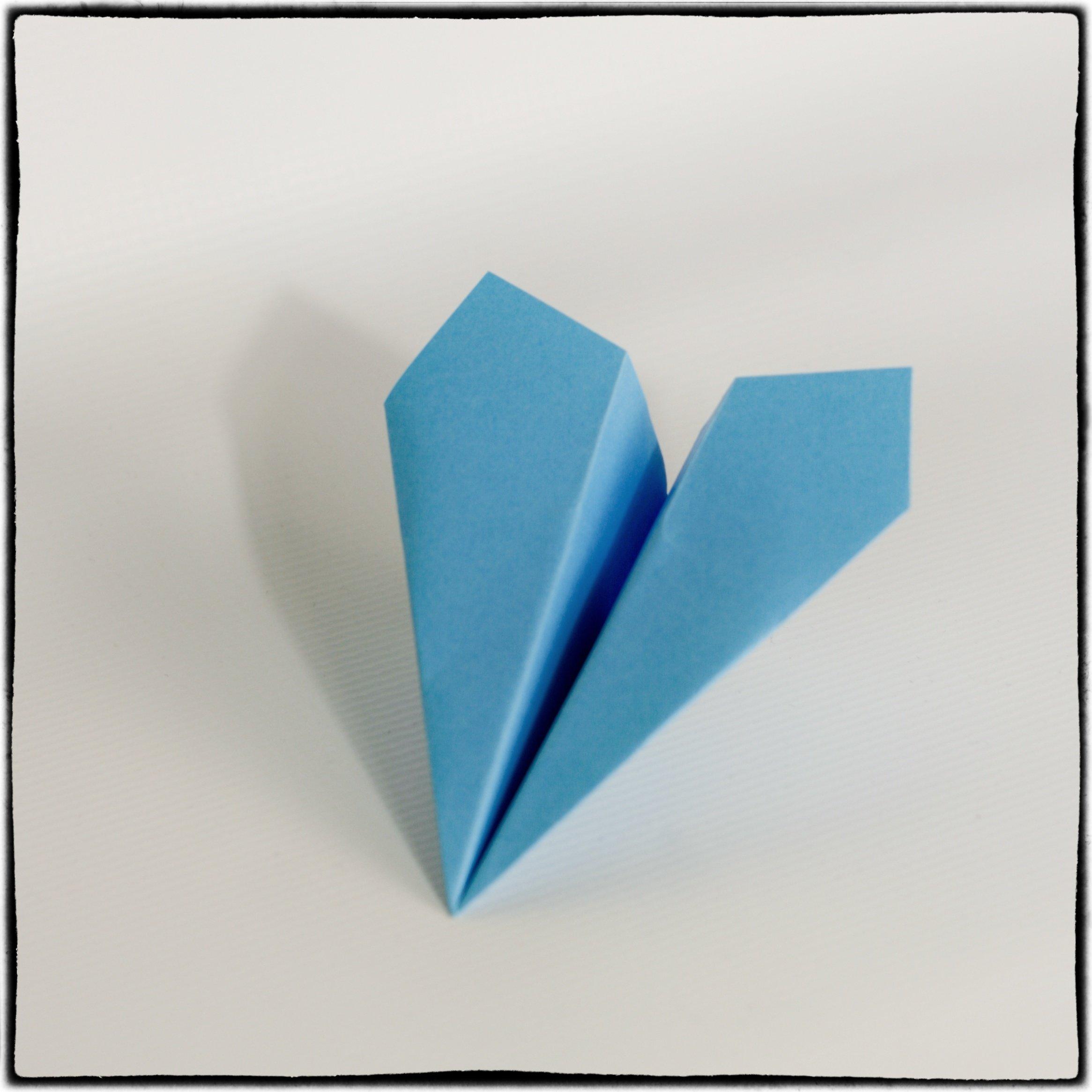 origami - samolot gotowy