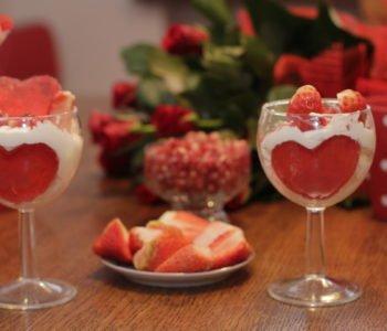 Przepis na walentynkowy deser z serduszkiem