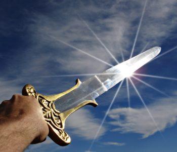 miecz rycerski