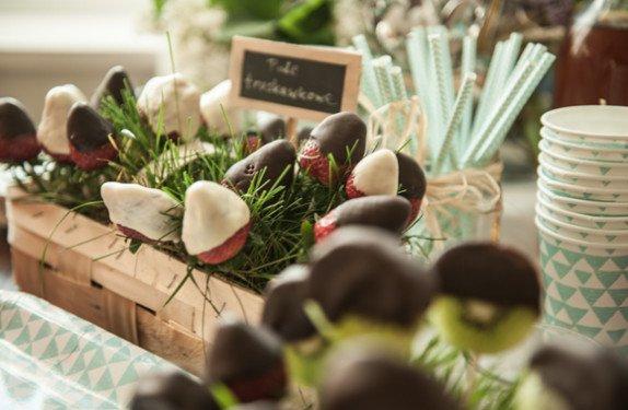 POmysł na truskawki przyjęcie dla dzieci
