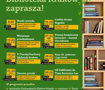 Poetycki początek wiosny w Bibliotece Kraków