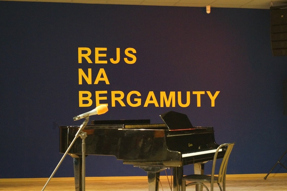 Rejs na Bergamuty - konkurs piosenki filmowej w DK 502
