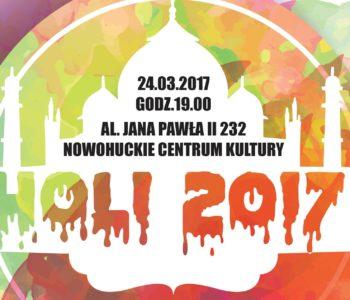 Indyjskie Święto Kolorów w Krakowie