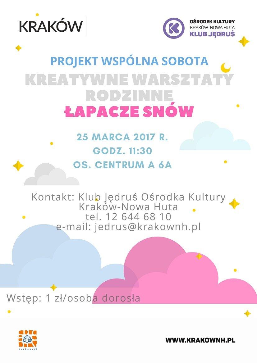 Klub Rodziców w Klubie Jędruś - Projekt wspólna sobota. Łapacze snów