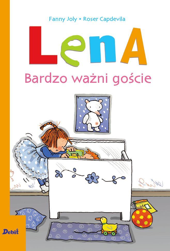 Lena. Bardzo ważni goście i Lena. Jedzie na wakacje