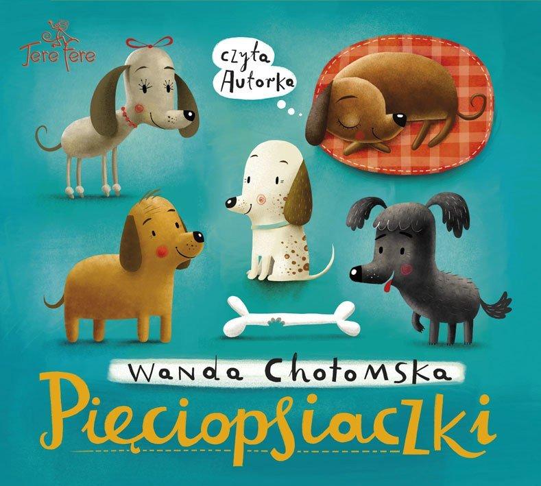 Pieciopsiaczki audiobook Wanda Chotomska