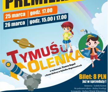 Tymuś i Oleńka, spektakl dla dzieci w Rybniku