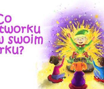 """""""Co Bajkotowrku masz w swoim worku?"""" – spektakl interaktywny dla dzieci od lat 3!"""
