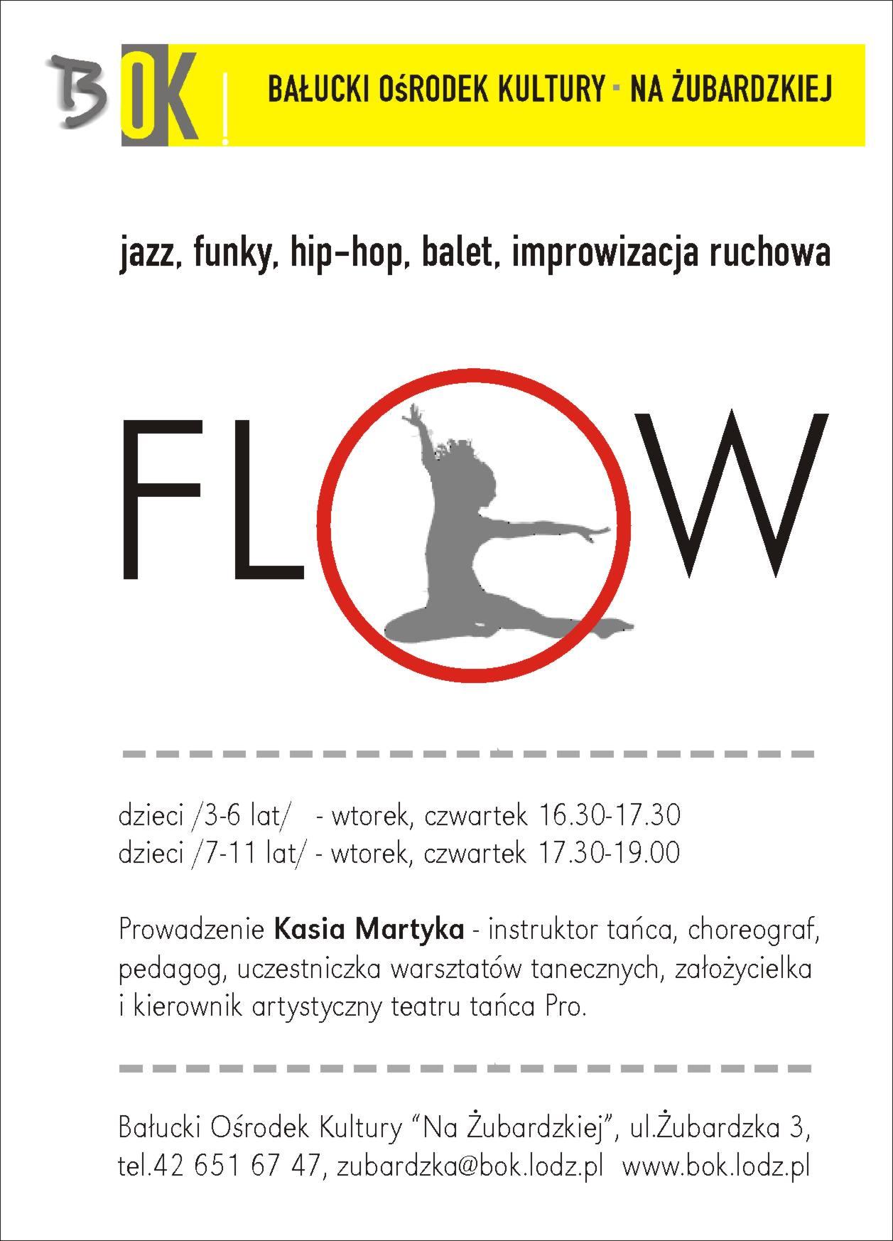 bok na żubardzkiej zespół taneczny flow zajęcia taneczne