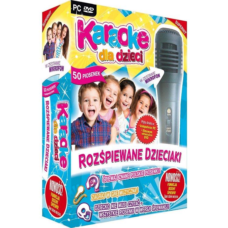 zestaw karaoke dla dzieci
