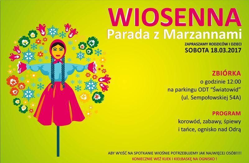 Parada z marzannami Wrocław