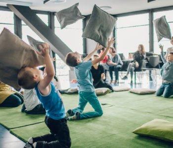 Kwietniowe warsztaty dla dzieci w Cricotece - Wszystko w ruchu