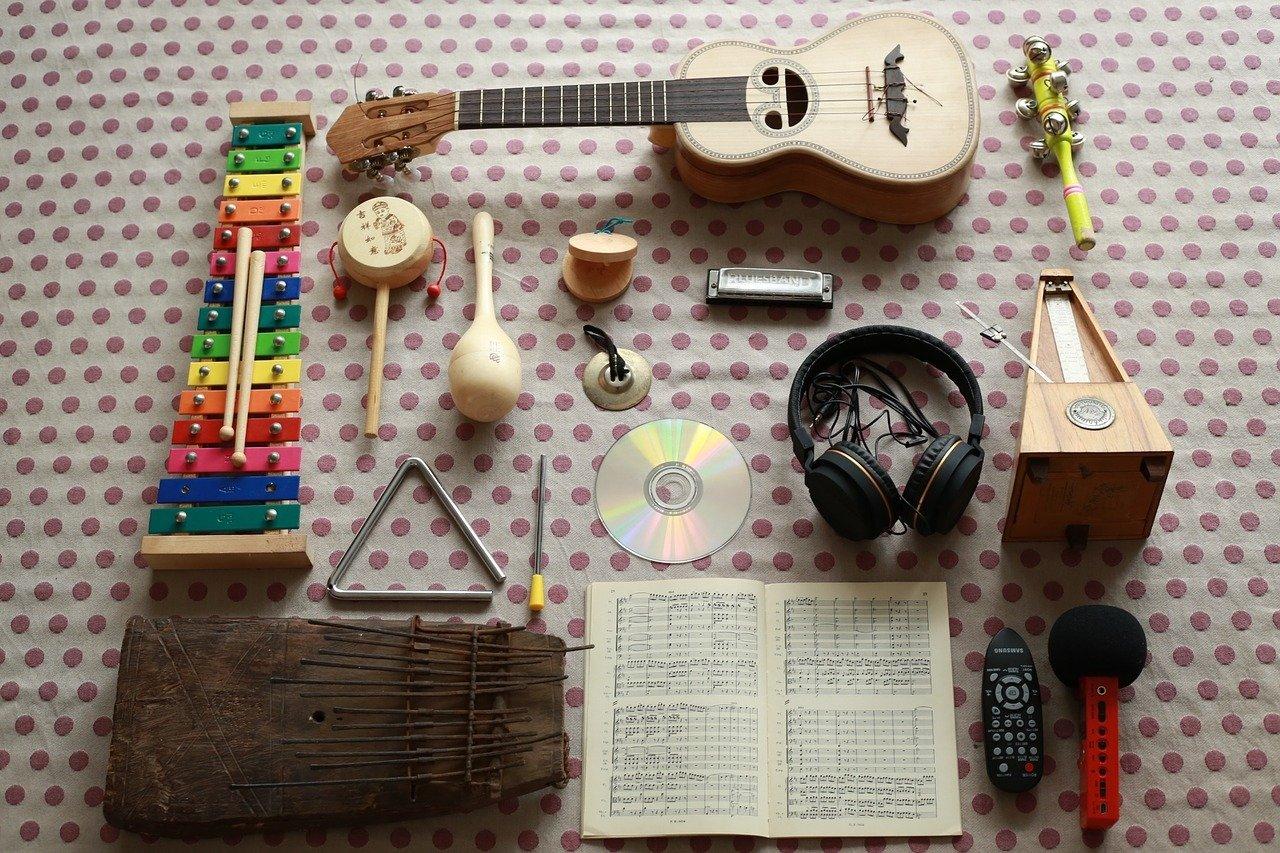 instrumenty na muzyczne urodziny