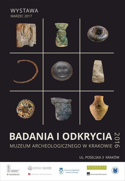 Badania i odkrycia Muzeum Archeologicznego w Krakowie