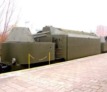 Zwiedzanie pociągu pancernego
