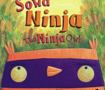 Sowa Ninja książka dla dzieci