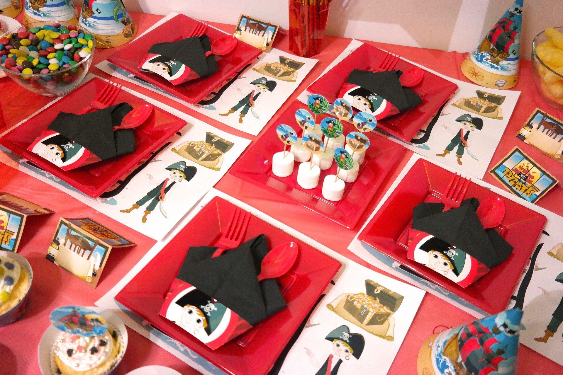 dekoracje na pirackie urodziny