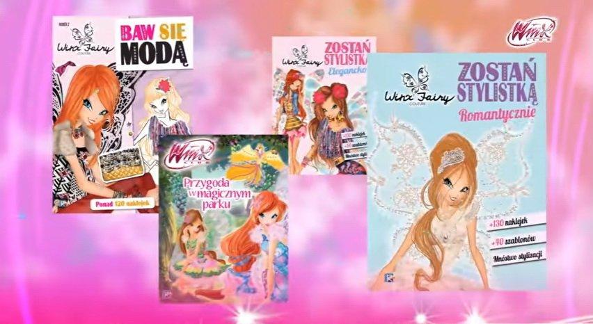 WINX kolejne książki z ulubionej serii dziewczynek