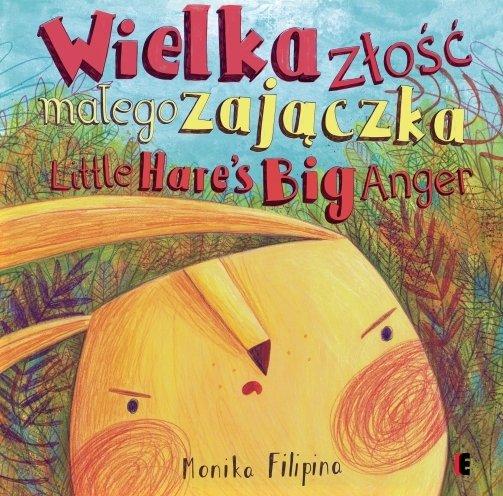 Wielka złość małego zajączka książka dla dzieci