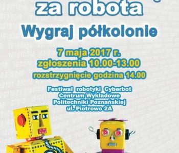 Konkurs Małego Inżyniera w ramach XIV Festiwalu Robotyki Cyberbot 2017